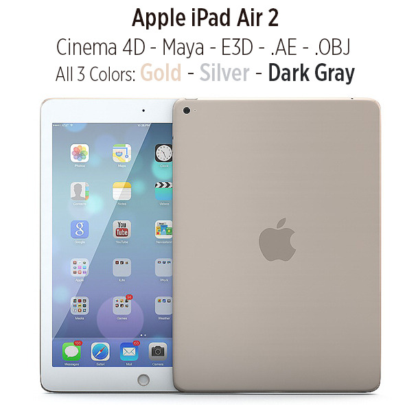 3DOcean Apple iPad Air 2 9254671