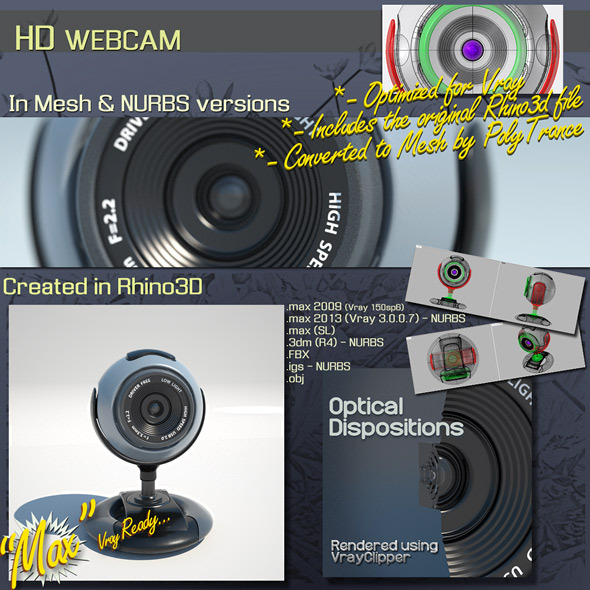 3DOcean HD WEBCAM 9254679