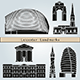 Leicester Landmarks and Monuments - GraphicRiver Item for Sale