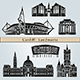 Cardiff Landmarks and Monuments - GraphicRiver Item for Sale