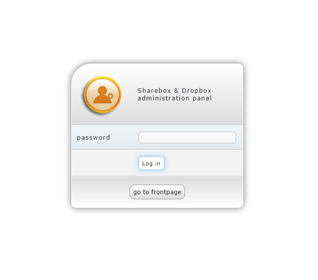 Your own Web File Sharing System with User Management and DropBox feature