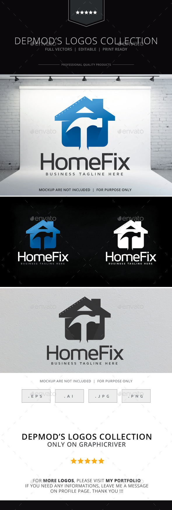 GraphicRiver Home Fix Logo 9255228