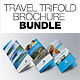 Travel Trifold Brochure Bundle