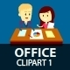 Office People Clipart 1 - GraphicRiver Item for Sale