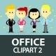 Office People Clipart 2 - GraphicRiver Item for Sale