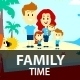 Happy Family Time - GraphicRiver Item for Sale