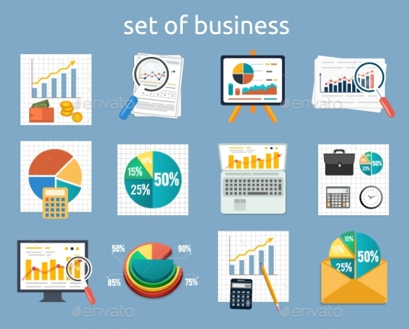 GraphicRiver Business Concept of Analytics 9255737