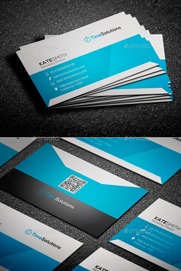 GraphicRiver Clean Business Card 9255749