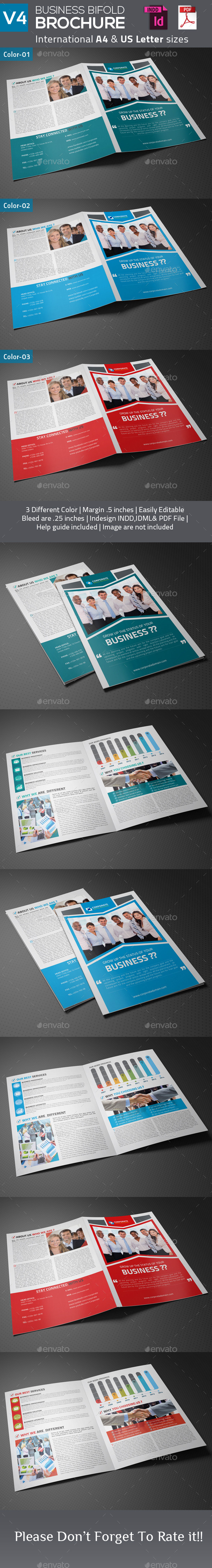 GraphicRiver Business Bifold Brochure V4 9255927