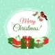 Christmas Card with Gift Boxes - GraphicRiver Item for Sale