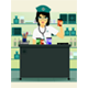 Doctor Holding Prescription Bottle - GraphicRiver Item for Sale