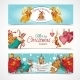 Christmas Banners Set - GraphicRiver Item for Sale