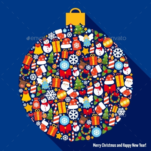 GraphicRiver Christmas Decoration Ball 9256292