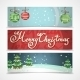 Horizontal Christmas Banners  - GraphicRiver Item for Sale