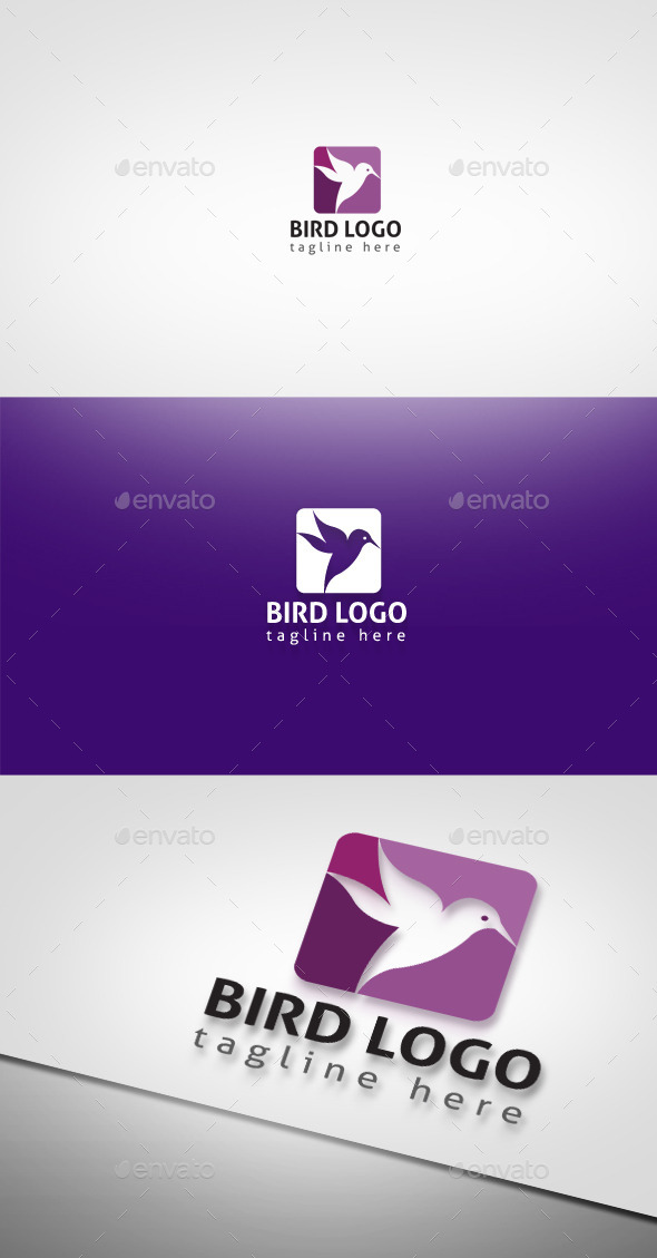 GraphicRiver Bird Logo 9256313