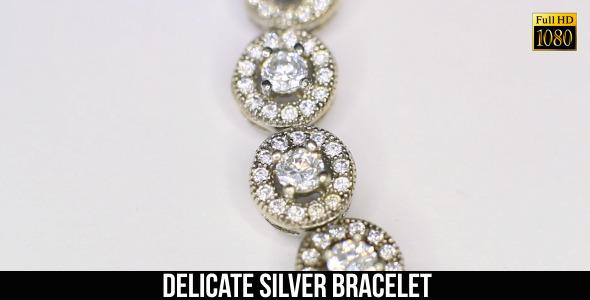 Delicate Silver Bracelet 2