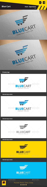 GraphicRiver Blue Cart 9256335