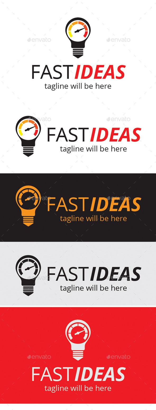 GraphicRiver Fast Ideas Logo 9256345
