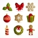 Christmas Icons Set - GraphicRiver Item for Sale