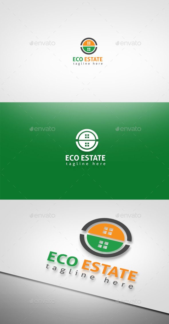 GraphicRiver Eco Estate 9256457