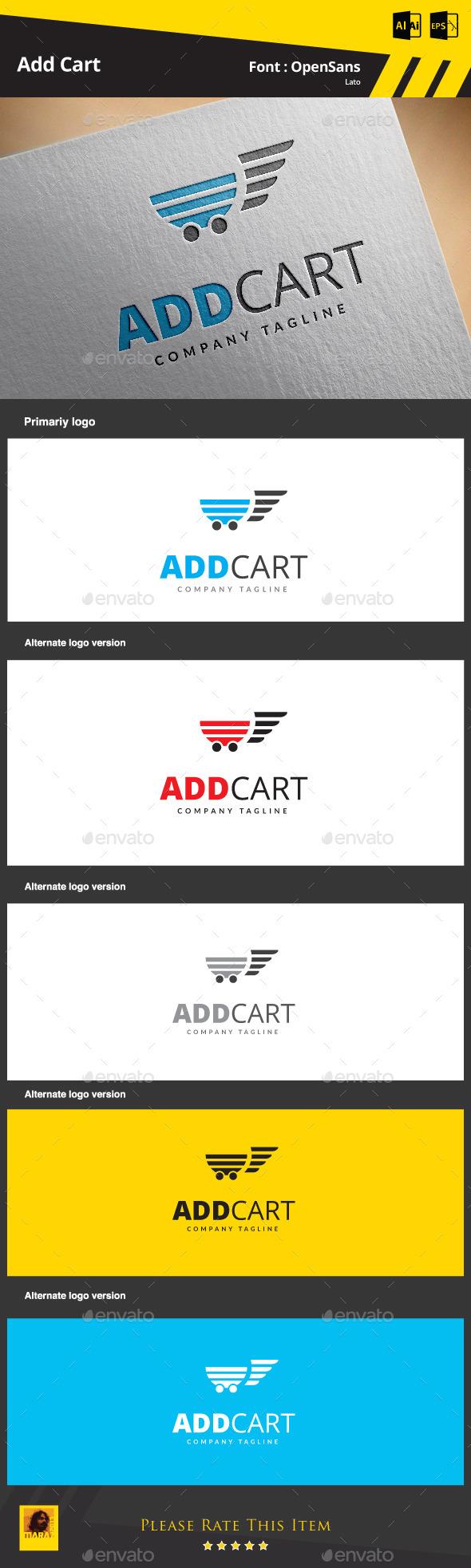 GraphicRiver Add Cart 9256608