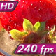 Ice Cubes Falling into Berry Drink   - VideoHive Item for Sale