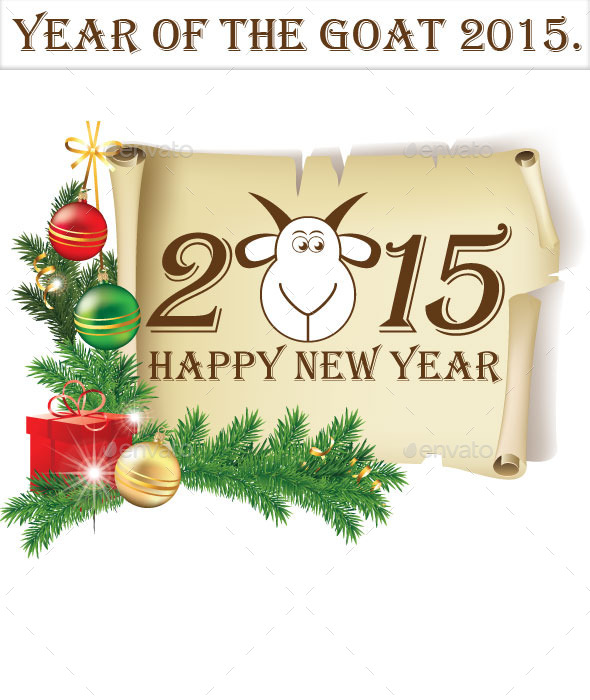 GraphicRiver Year of The Goat 2015 9256776