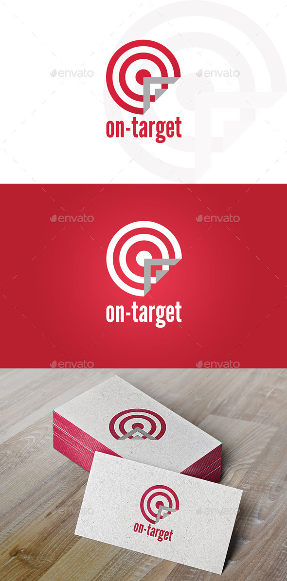 GraphicRiver On-Target Logo 9256780