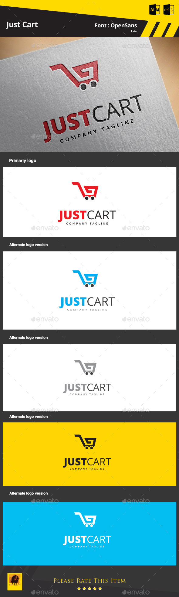 GraphicRiver Just Cart 9256822