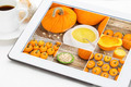 pumpkin soup, jucie and seeds - PhotoDune Item for Sale