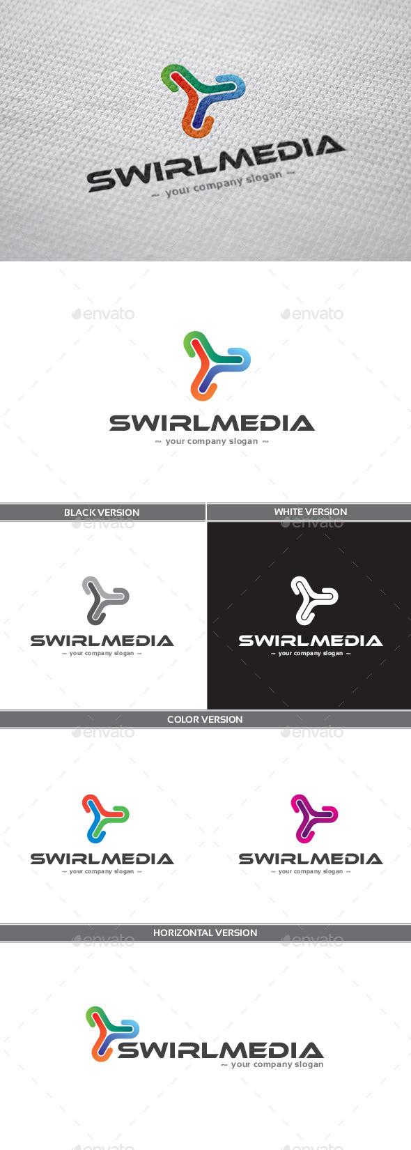 GraphicRiver Swirlmedia Logo 9256976