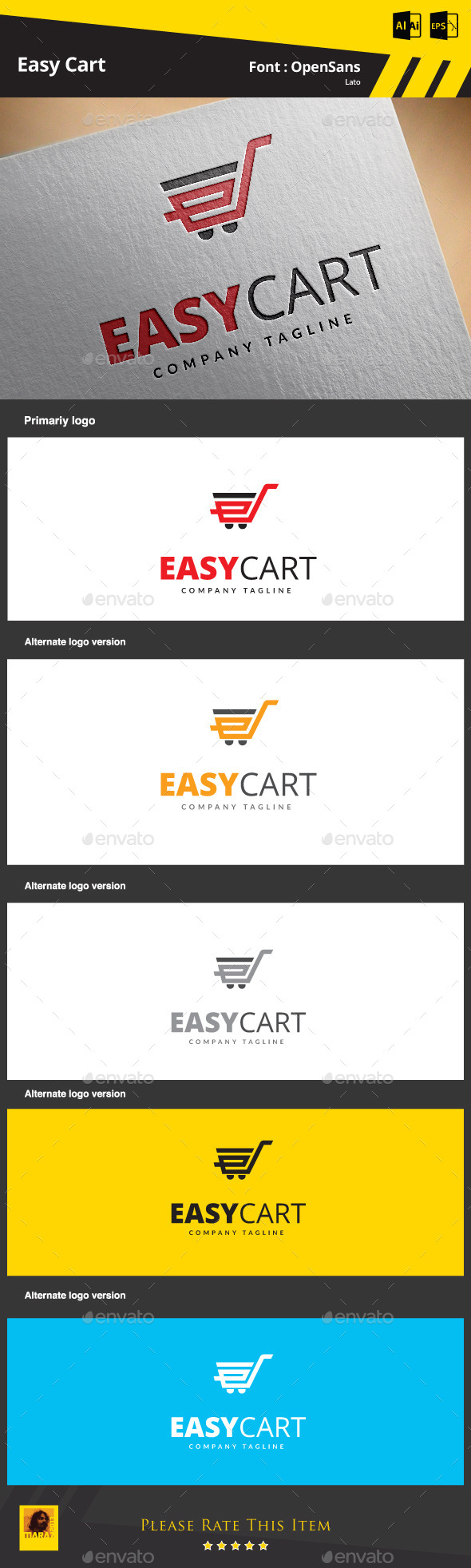 GraphicRiver Easy Cart 9257146