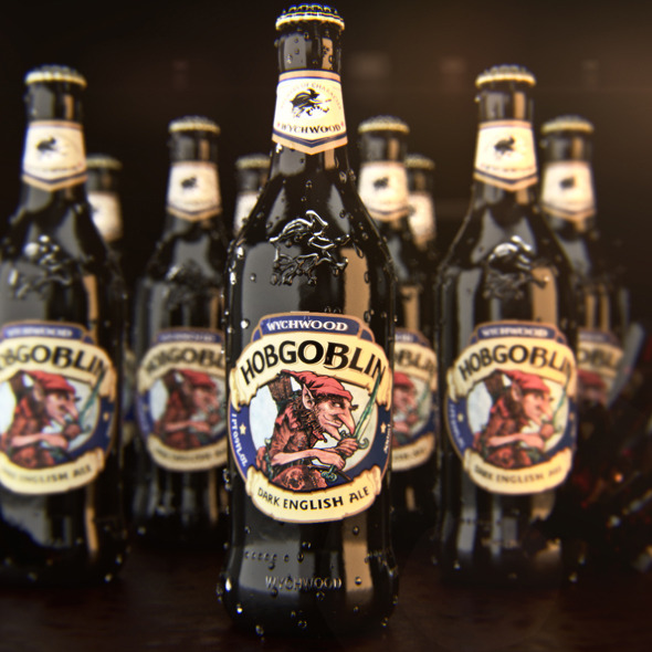 3DOcean Hobgoblin Ale Bottle Corona materials 9257150
