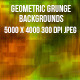 Geometric Grunge Backgrounds - GraphicRiver Item for Sale