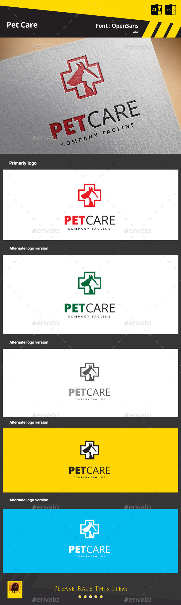 GraphicRiver Pet Care 9257324