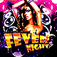 Fever Night | Flyer Template PSD - GraphicRiver Item for Sale