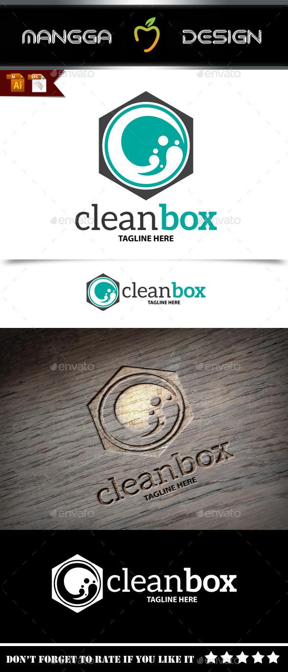 GraphicRiver Clean Box Logo 9257466