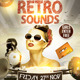 Retro Sounds Flyer Template - GraphicRiver Item for Sale