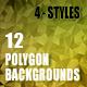 12 Polygon Backgrounds - 4 Styles - GraphicRiver Item for Sale
