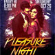 Pleasure Night Party Flyer - GraphicRiver Item for Sale