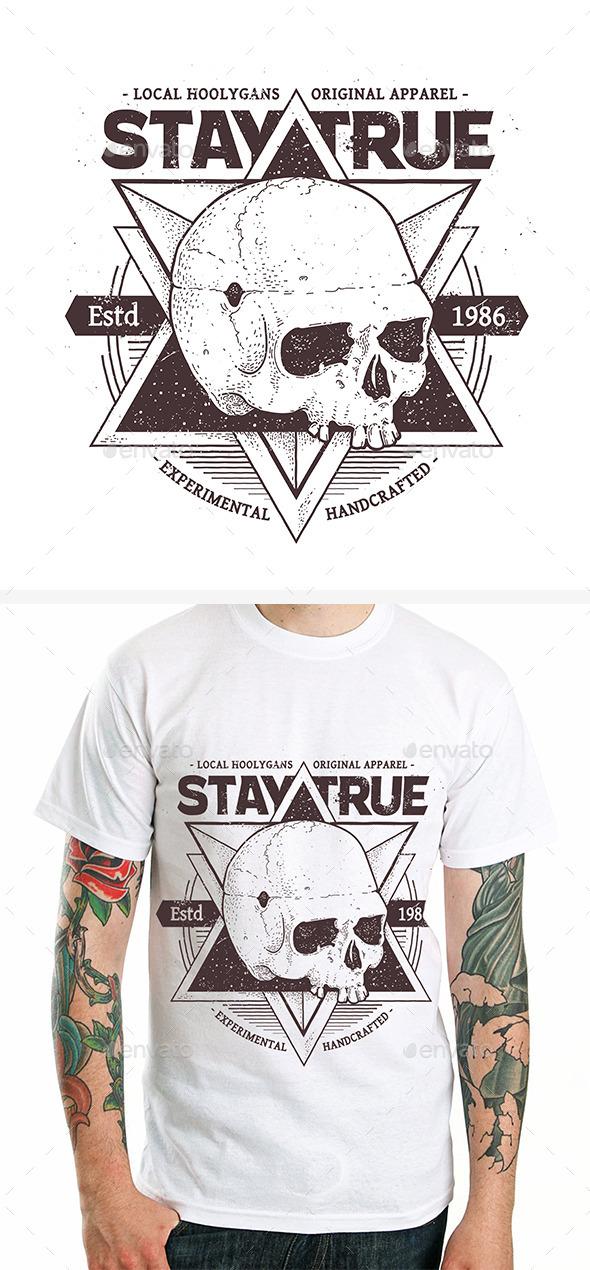 GraphicRiver Dotwork Skull Print #3 9258066