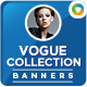 Vogue Collection Banner Design Set - GraphicRiver Item for Sale
