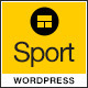 Sport - WordPress Club Theme - ThemeForest Item for Sale