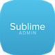 Sublime - Web Application Admin Dashboard - ThemeForest Item for Sale
