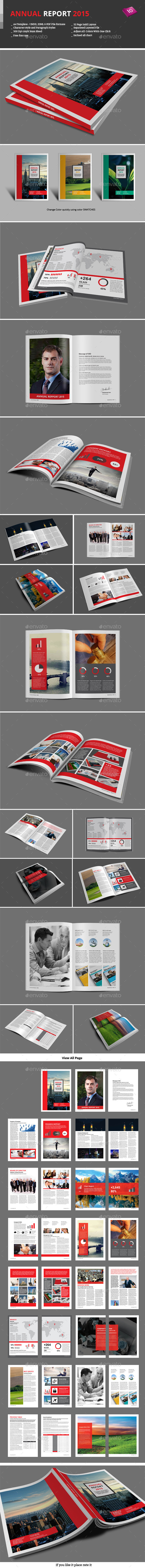 GraphicRiver Annual Report 2015 9258234