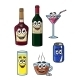 Beverages Cartoons - GraphicRiver Item for Sale