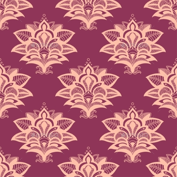 GraphicRiver Paisley Pattern 9258332