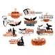 Set of Happy Halloween Designs - GraphicRiver Item for Sale