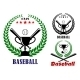 Baseball Badges or Emblems - GraphicRiver Item for Sale