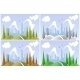 Landscape in Four Seasons - GraphicRiver Item for Sale